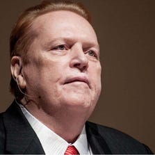 Larry Flynt speaks on First Amendment issues at Syracuse University on March 5, 2013.