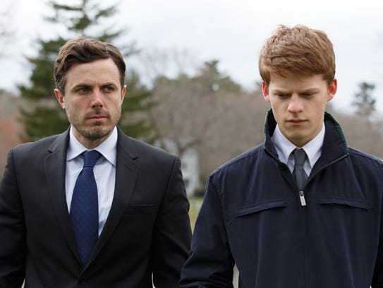Casey Affleck (left) and Lucas Hedges star in the drama