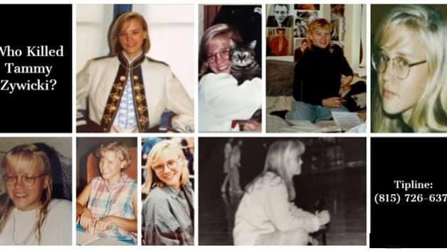 This collage of Tammy Zywick was released last month by the Illinois State Police, on the 28th anniversary of the last time she was last seen alive. On Aug. 23, 1992, Tammy Zywicki was spotted after her car broke down on Interstate 80 near Utica. She later was found in Missouri, stabbed to death. The case remains unsolved.