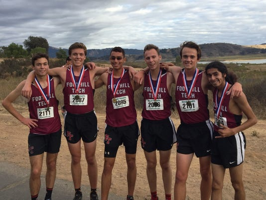 Foothill Tech boys XC