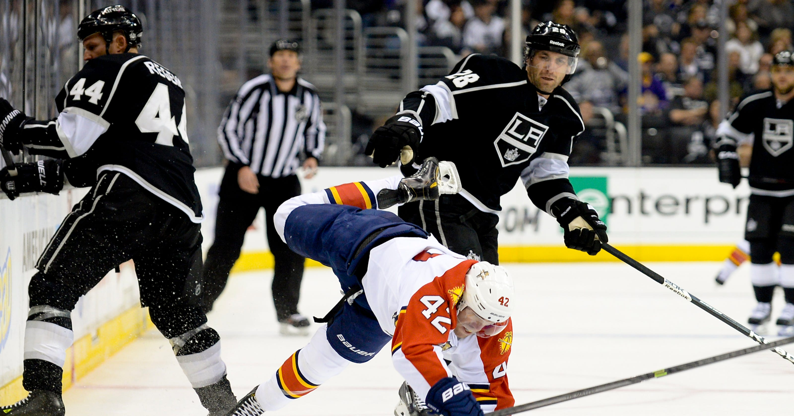 0f8e20d2529 Quick sets wins record as Kings blank Panthers