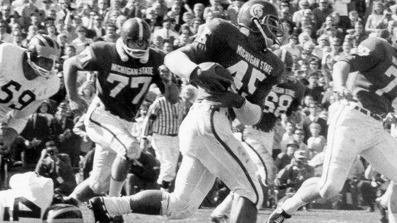 Bob Apisa was a two-time All-American in 1965 and '66.