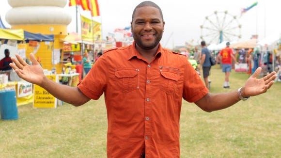 "Food Network host Anthony Anderson's new show is now called ""Eating America."" It premieres July 28."