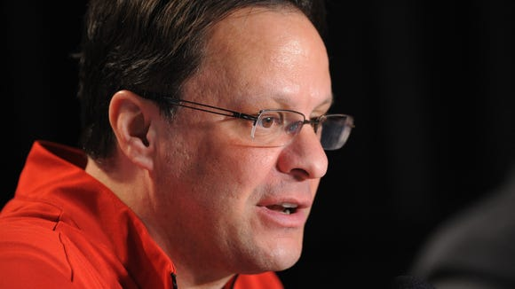 IU coach Tom Crean (pictured) met with media members Tuesday for more than half an hour, covering a broad range of topics related to Indiana's ongoing offseason.