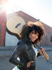 Rissi Palmer performs at Concerts on the Quad on July