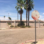 80th Street near Main Street in east Mesa.