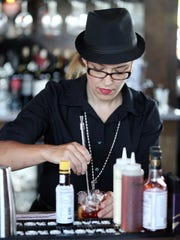 Bartender Jolene Price makes an Old-Fashioned Wednesday,