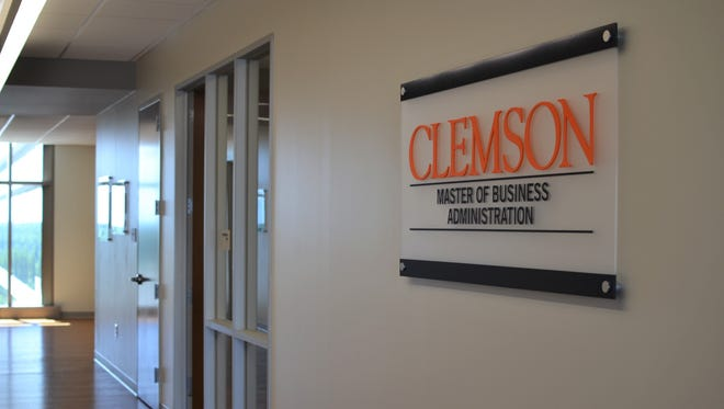 Clemson's MBA program runs out of a satellite space in downtown Greenville, which is also home to the university's entrepreneurship hub, the Spiro Institute.