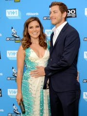 In this July 31, 2013, file photo, Sophia Bush, left, and Dan Fredinburg arrive at the Do Something Awards at the Avalon in Los Angeles. Fredinburg dated the TV star at the time.