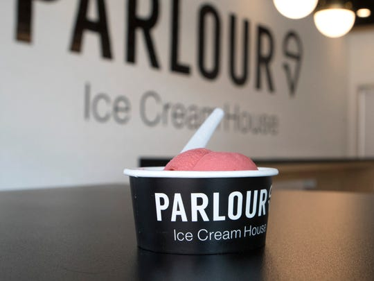 Parlour Ice Cream House opened in downtown Sioux Falls in May.