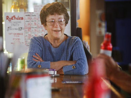 Jean Doublin has owned and operated Ruthie's Bar since