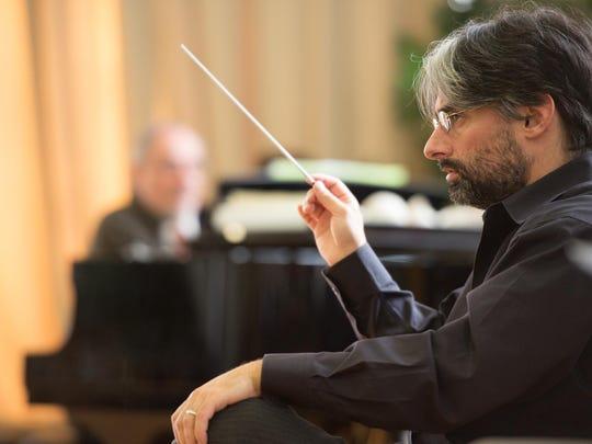 Maestro Anthony Barrese, who found the 'Hamlet' score,