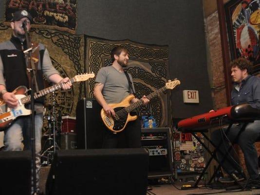 Local guys Matt Morris and Matt Preston with Bleu Edmondson