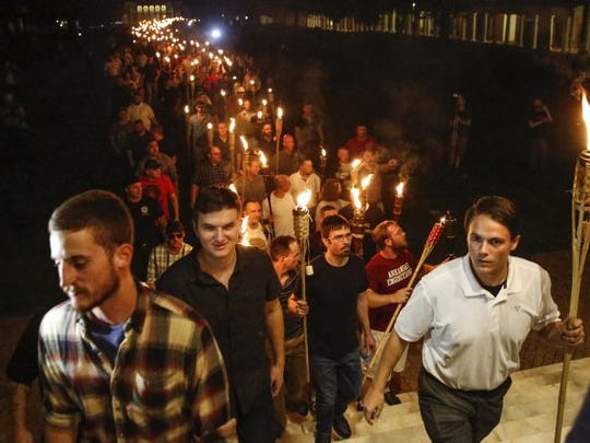 CHARLOTTESVILLE TORCH RALLY