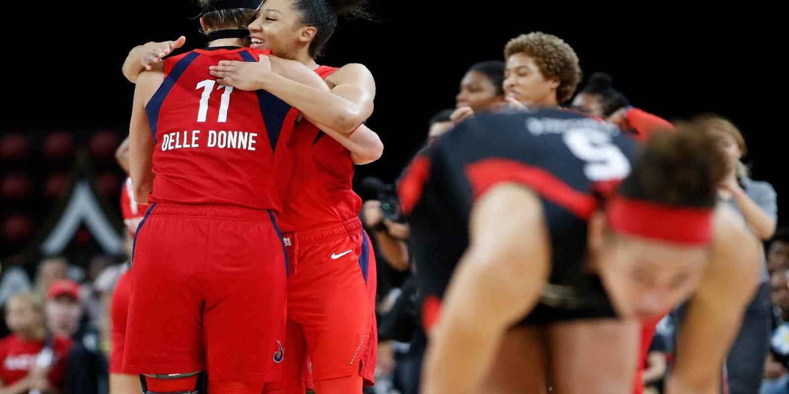 Mystics, Sun to meet in WNBA Finals; series begins Sunday