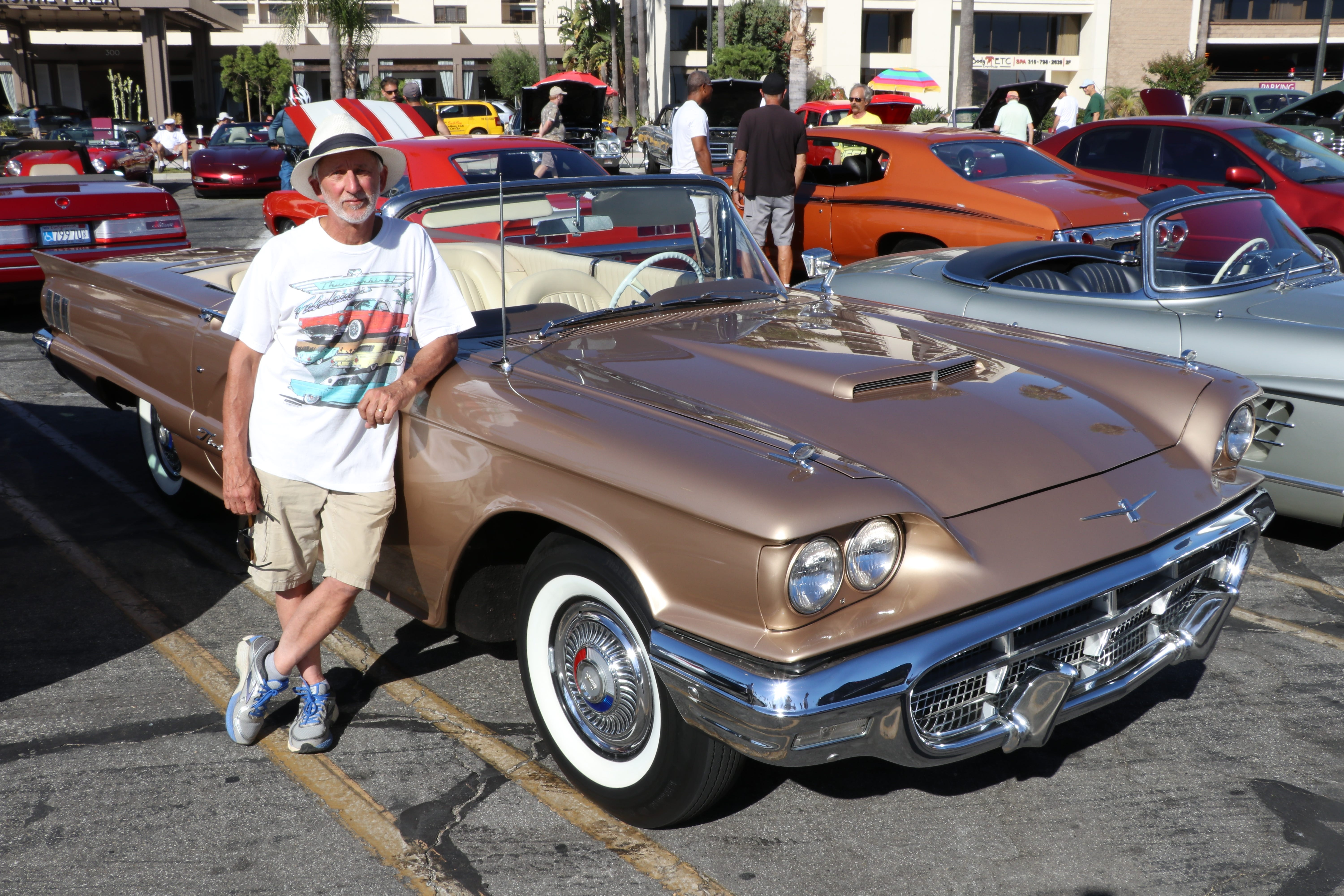 XXX JUST COOL CARS FEATURES WITH CHRIS WOODYARD. 1960 FORD THUNDERBIRD  008.JPG ENT