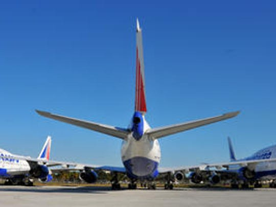 Soon all the Transaero 747s will be gone from Orlando