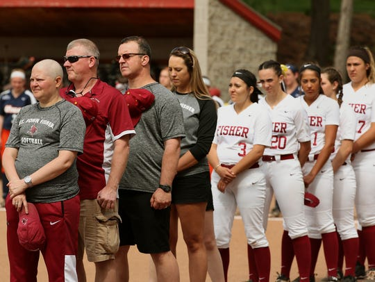 St. John Fisher softball coach Bari Mance will receive