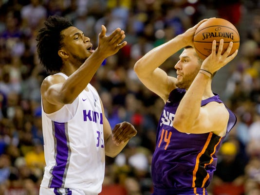 NBA SUMMER LEAGUE: Phoenix Suns - Sacramento Kings