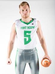 Jordan Weatherbee, Fort Myers defensive player