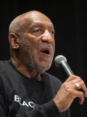 Bill Cosby speaks to students at Selma High School in Selma, Ala., on May 15, 2015.