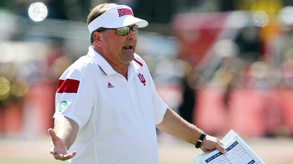 Under Kevin Wilson, the Hoosiers just can't seem to get over the hump.