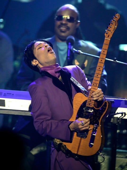 Prince, Stevie Wonder