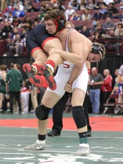 Shelby's 2017 state medalist Brahm Ginter beat Franklin's