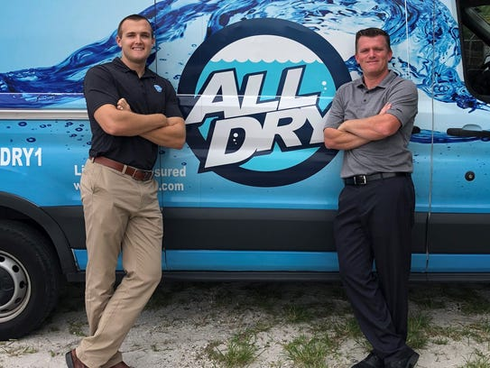 Billy Black, at left, and Chris Rice, partners at All