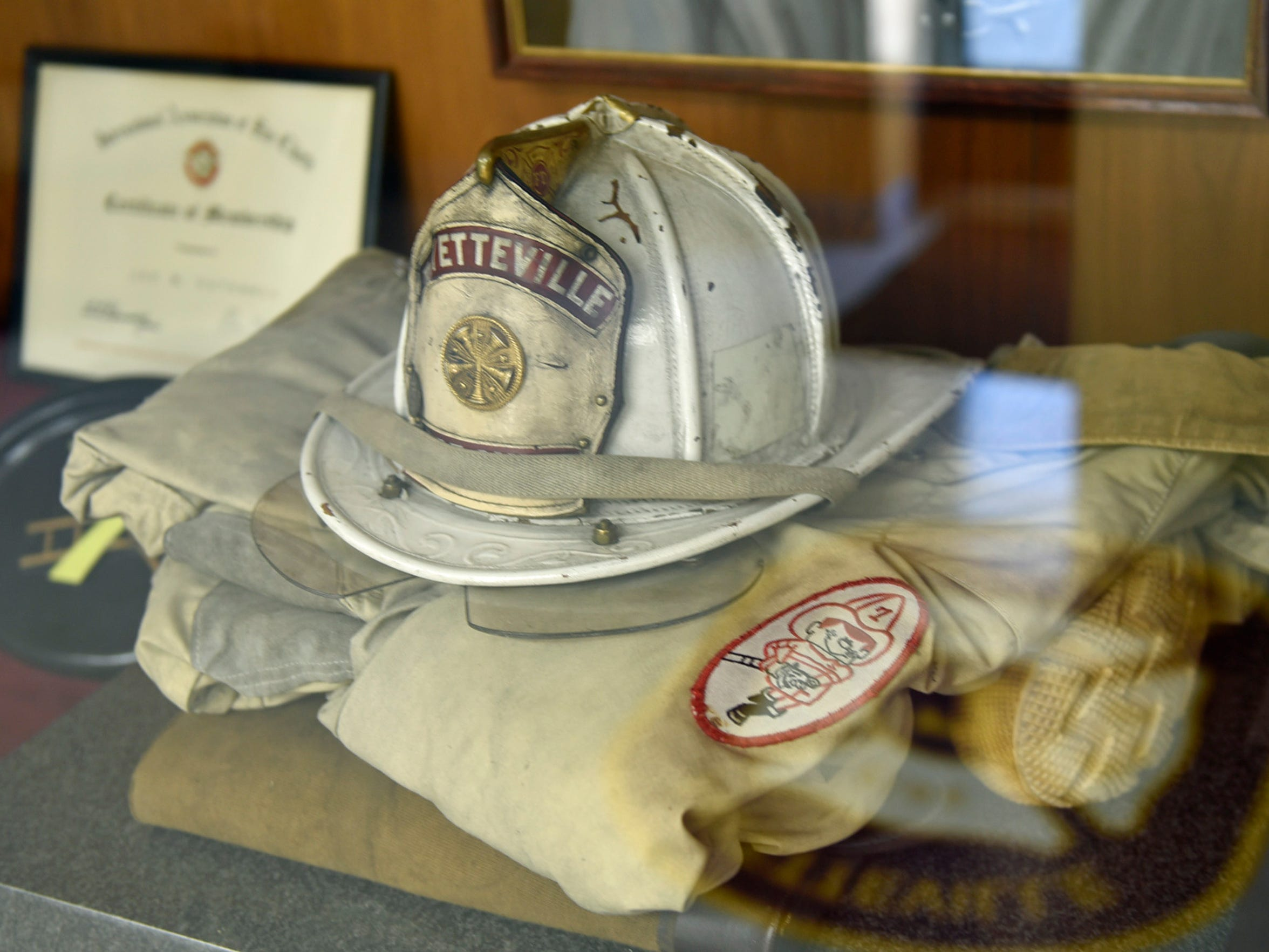 """A memorial dedicated to Cutchall is at Fayetteville Fire Dept. Main Street in Fayetteville has been renamed after firefighter James """"Jim"""" Cutchall who was killed by a sniper in July 1977 while responding to a fire alarm."""