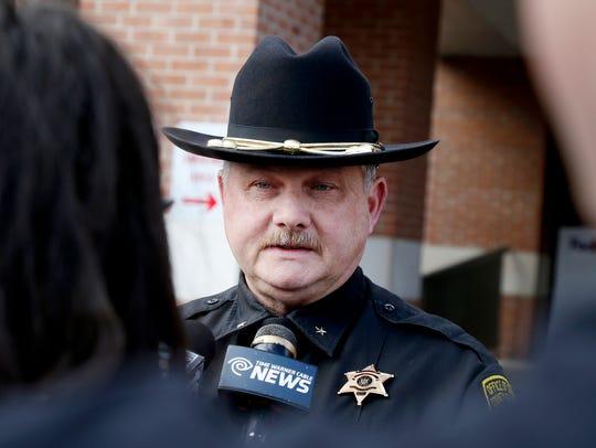 Steuben County Sheriff Jim Allard, who was then the