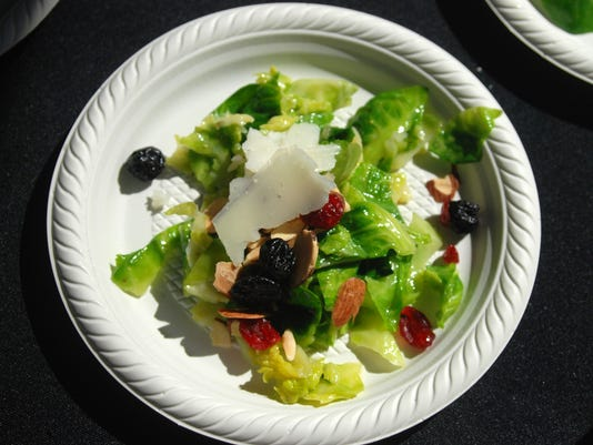 Chealsea's Kitchen's Brussels Sprout Salad