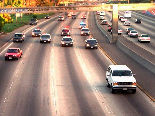 O Meara Ford >> Whatever happened to O.J. Simpson's white Ford Bronco?
