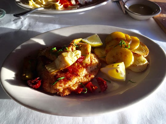 Salmon Gusto from Gusto Cucina Italiana in Cape Coral.