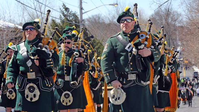 Pearl River St. Patrick's Day Parade on Sunday