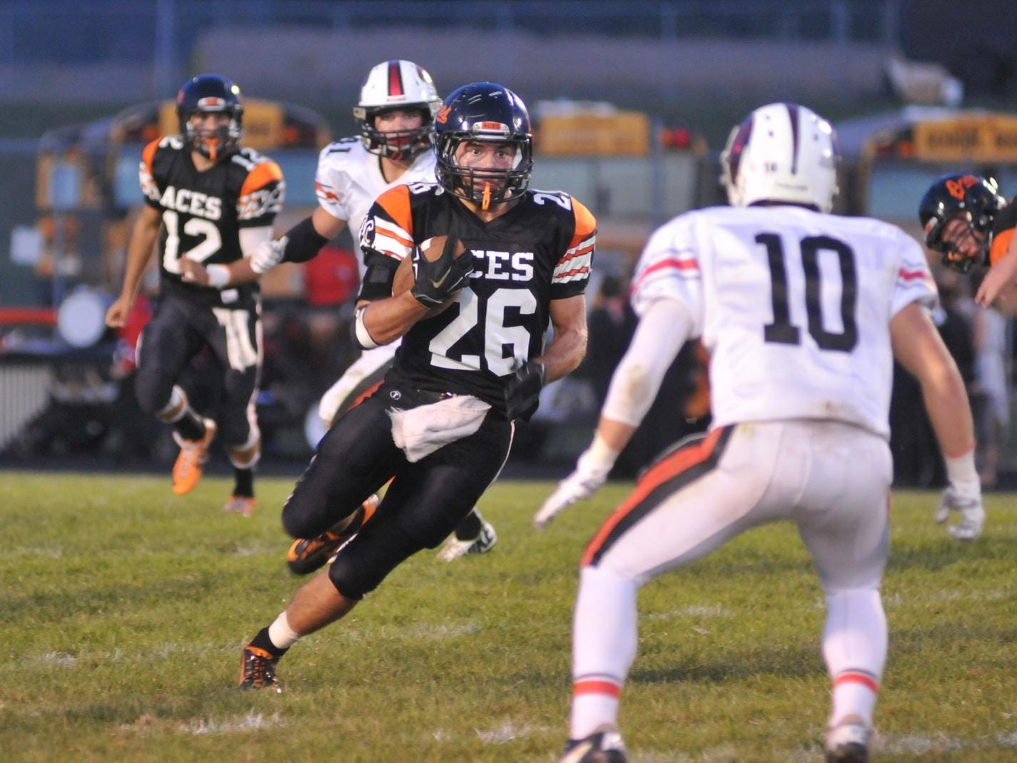 Amanda-Clearcreek's Jordan Leasure is The Eagle-Gazette's 2015 Male Athlete of the Year.
