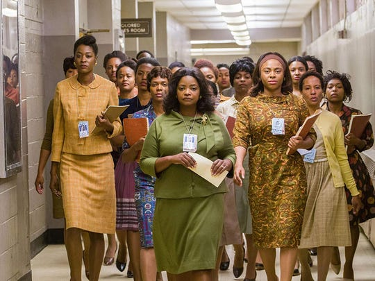 "Octavia Spencer and Crystal Lee Brown in ""Hidden Figures,"" which examined the role of black women at NASA."