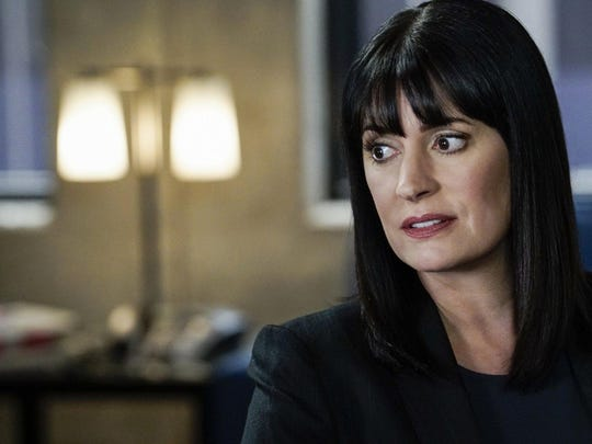 "Paget Brewster in ""Criminal Minds,"" which concludes its 15-year-run on CBS with back-to-back episodes Wednesday."