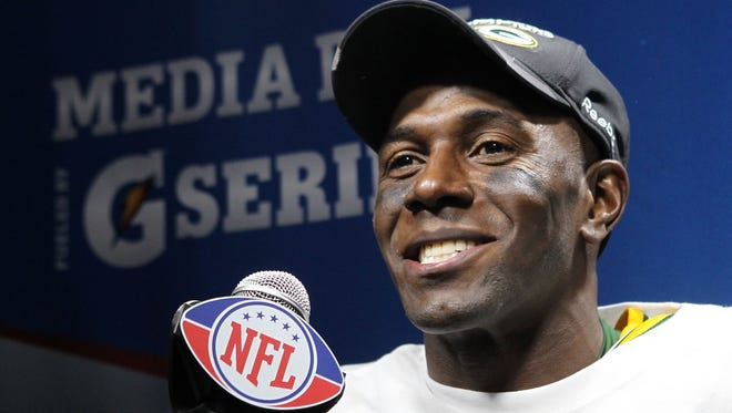 Retired Green Bay Packers receiver Donald Driver.