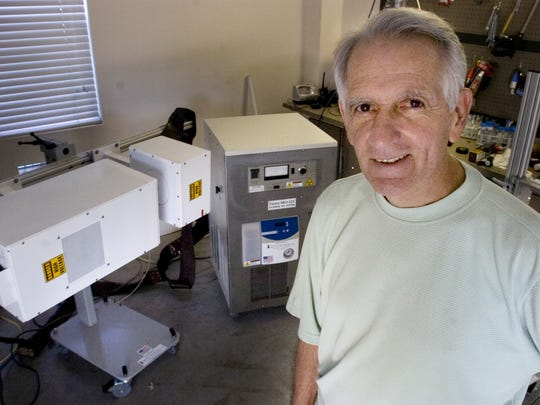 Inventor John Kanzius hoped his invention would be a replacement for chemotherapy.