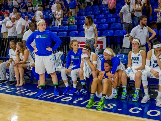 Perhaps the most stunning loss in FGCU women's basketball