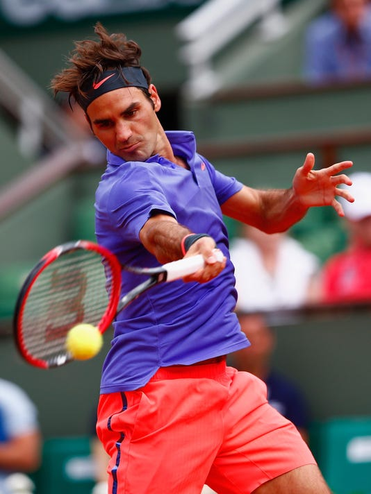 2015 French Open - Day One