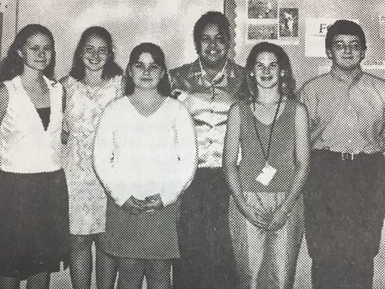 The UCMS top Accelerated Readers in June 2001 were,