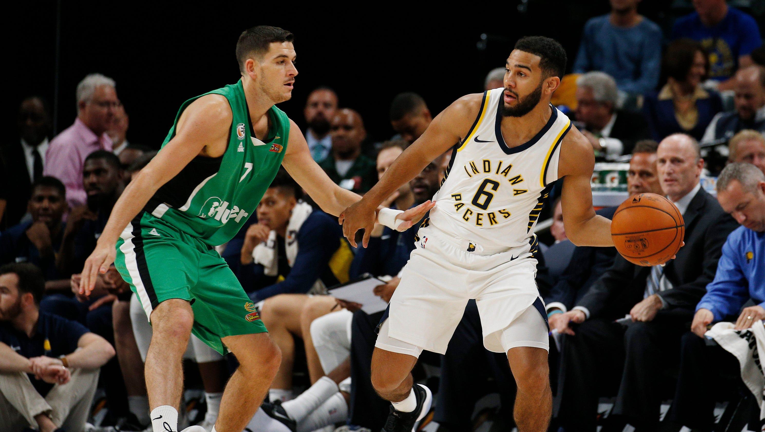 Indiana Pacers host Maccabi Haifa