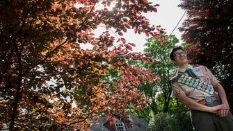 Park Ridge Historical Trail: Eagle Scout Daniel Tallman's Walking Tour through Park Ridge, NJ. Tallman talks about some of the stops on tour on Tuesday, May 16, 2017.