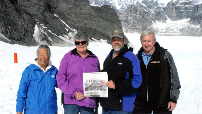 Don and Mary Allen and Kim and Duane Koepp are Just Back From Denali National Park.