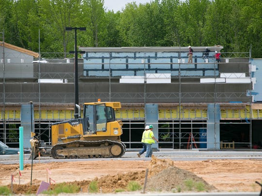 The second, 200,000-square-foot phase of Christiana Fashion Center is currently under construction.