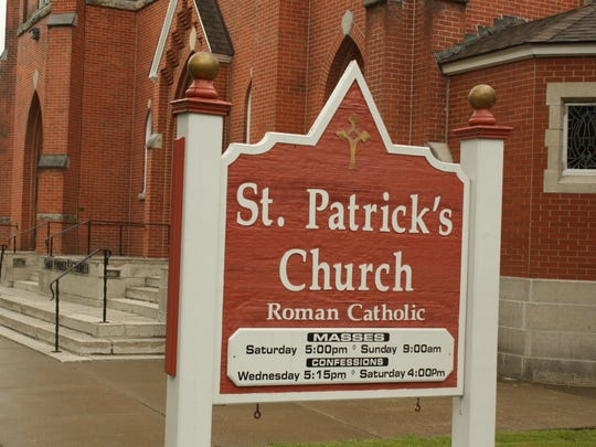 St. Patrick's Church is located on 302 Main Street