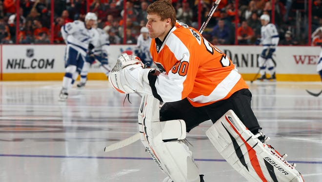 Ilya Bryzgalov played only two years of his nine-season contract before the Flyers bought him out.
