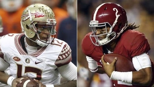 Sophomores Deondre Francois (Florida State) and Jalen Hurts (Alabama) will lead their respective teams into a Top 5 matchup Sept. 2 in Atlanta.